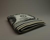 3ds max dollar money paper