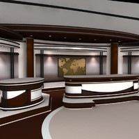 3d virtual set