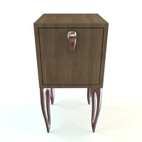 3d nightstand style model