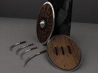 dacic sica swords-bonus shield