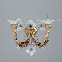 Antique Detailed Sconce Light