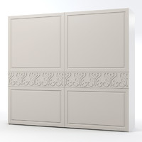 3d model benedetti bedroom armoire