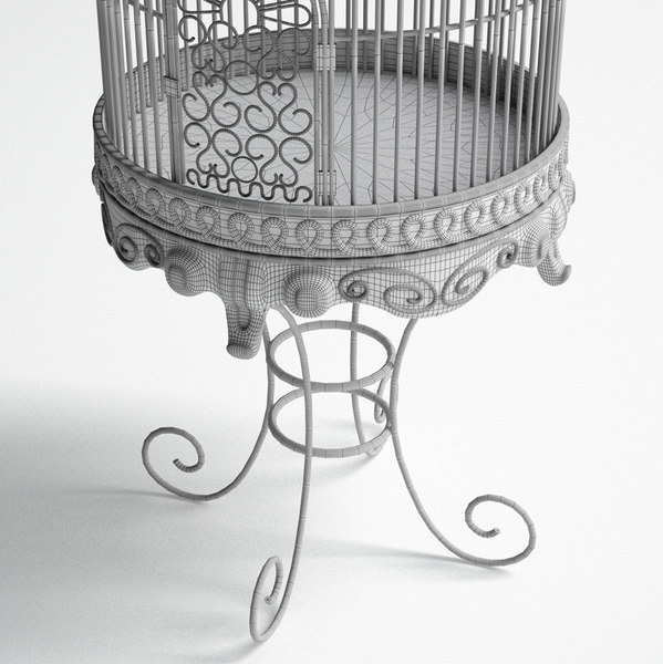metal birdcage 3ds - Birdcage... by Robkius