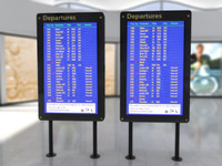 3dsmax airport board