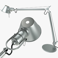 artemide tolomeo desk lamp 3d model