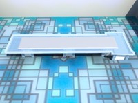 3d conference room table -