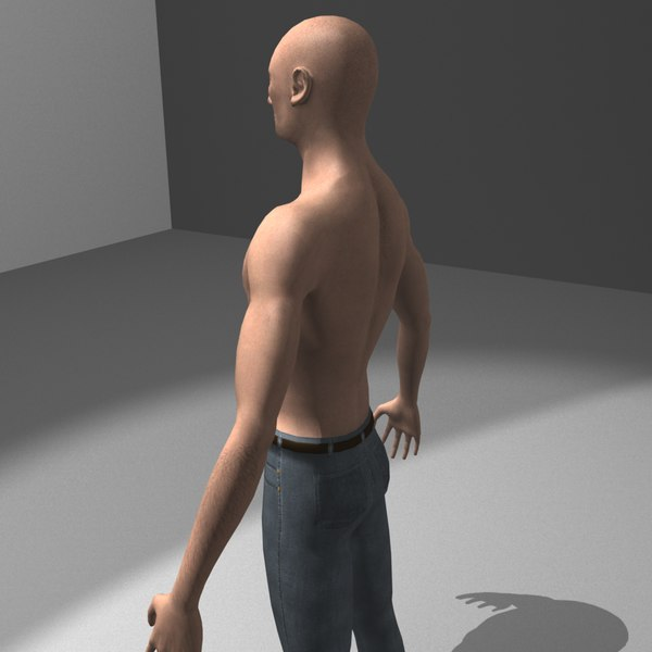 man guy urban 3d model - Thug... by Dominic Sieli