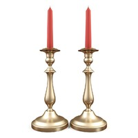 3d candlestick candle model