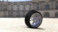 3ds wheel tire 17