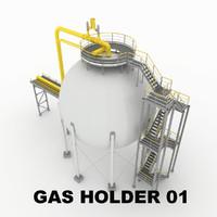 Gas holder 01