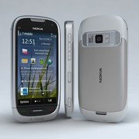 3d nokia c7 astound model