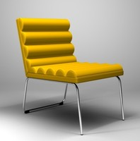 chicago easy chair 3d model