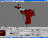 free gun black ops 3d model