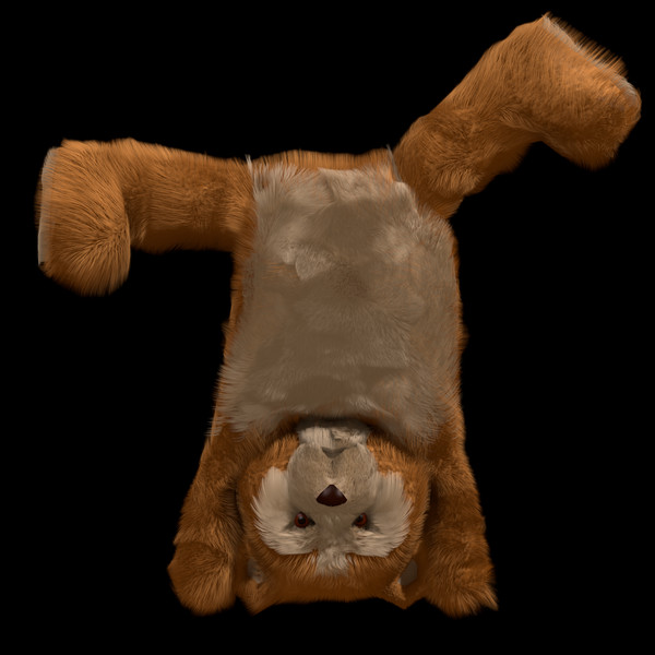 maya future toy teddy - Teddy... by 3D_Monger