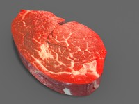 Beef Steak Raw Meat