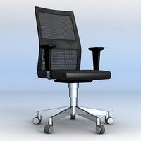 itek task chair 3d model