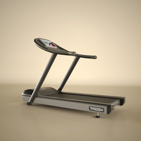 technogym treadmill 3d model