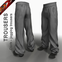 Cloth Jogging Trousers