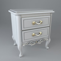 nightstand drawer 3d model