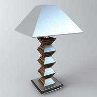 3ds max table lamp