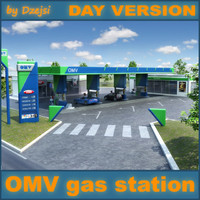 OMV Gas station DAY version
