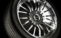 3d wheel rim tire model