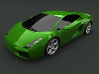 Lamborghini Gallardo (no interior version)