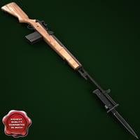 M14 Rifle with M6 Bayonet
