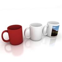 3d mugs model