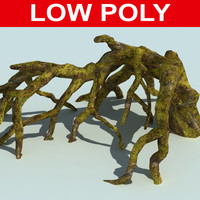 3d root tree drift model