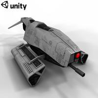 Droid Scout Ship