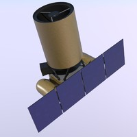 3d max arkyd space telescope
