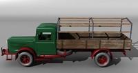German vintage truck