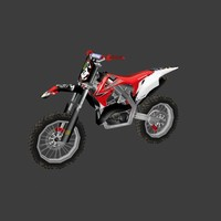 low poly dirt bike 04