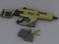 3ds max gun rifle