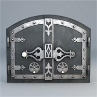 furnace door 3d model