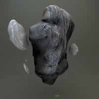 3d model meteors