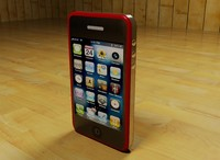 3d iphone phone