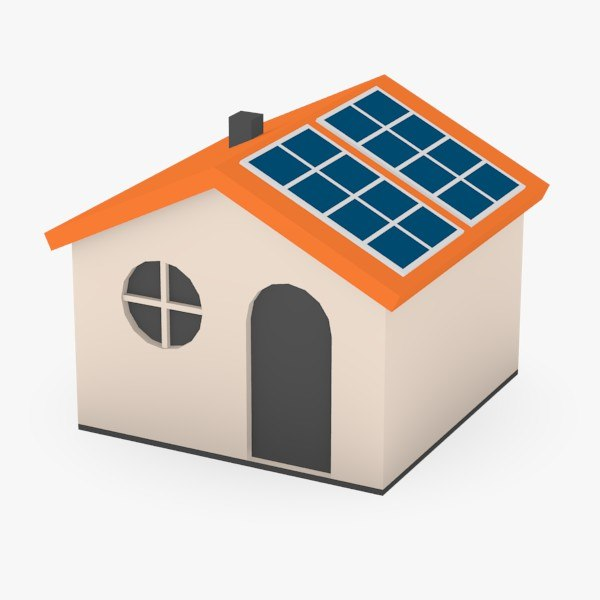 3ds max houses solar - solar houses... by 3DMB