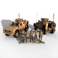 3dsmax matv soldiers
