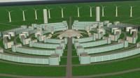 future city 3d max