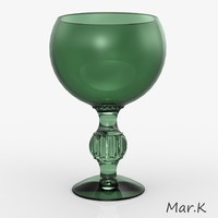 maya glass goblet