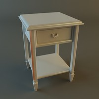 night nightstand 3d model