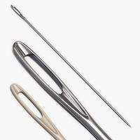 needle 3d model