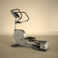 technogym excite 3d model
