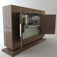 Serving Bar Cabinet