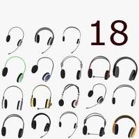 headphones set -18 models