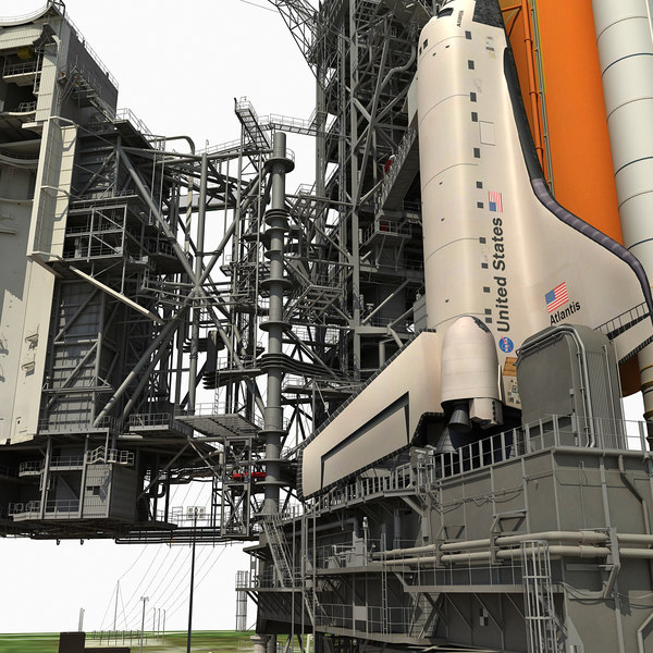 3d nasa launch complex 39b - NASA Launch Complex 39B... by Gandoza