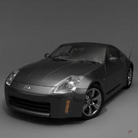 350Z with Interiors High Poly Maya