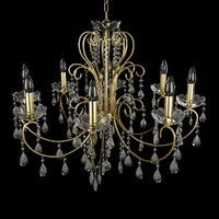 Wofi chandelier 8 lamp